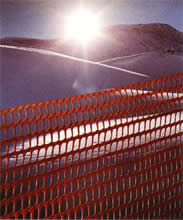 SAFETY FENCE and SNOW FENCE